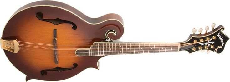 Washburn Guitars   New for 2018, from our new Timeless Collection and featuring a 104 year old solid fir top! Dry, stiff, and light, European Fir is tonally rich, deep and loud, exhibiting the crispness of a Spruce and the warmth of Redwood and Cedar.  TCMF43SWK mandolin