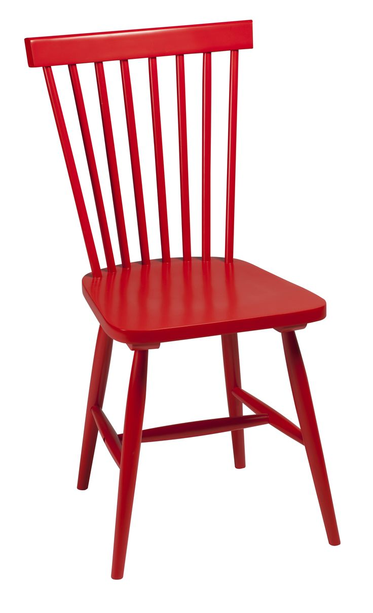 AGNES Chair in red lacquer