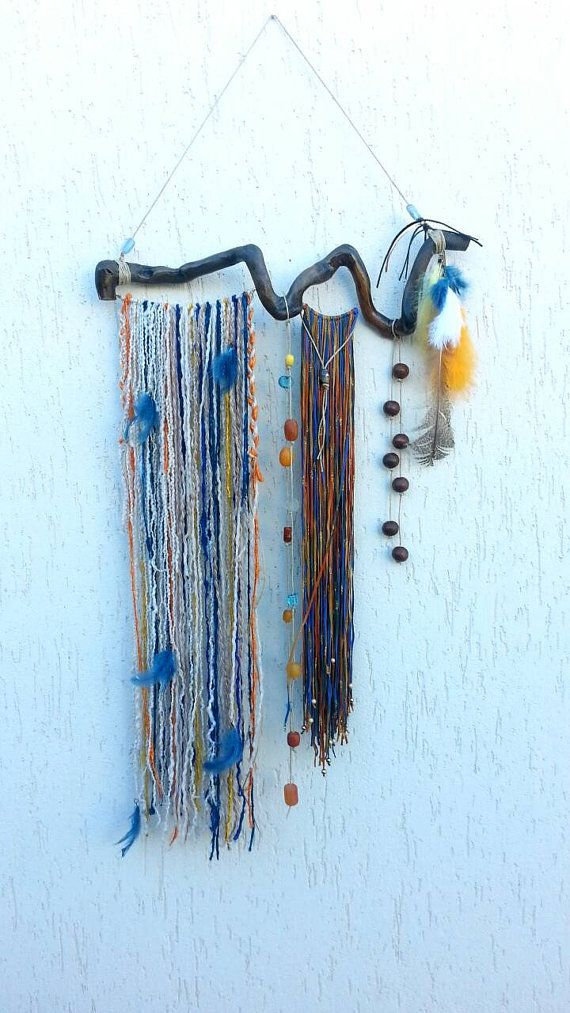 Check out this item in my Etsy shop https://www.etsy.com/listing/230928687/bohemian-decor-gypsy-dream-catcher-boho