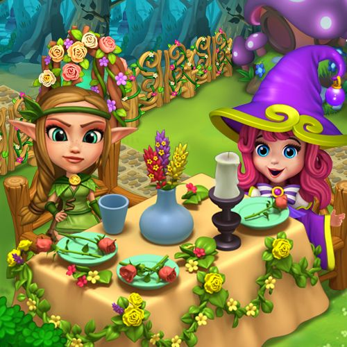 Early spring picnic? Why not! #royalstorygame #royalspring