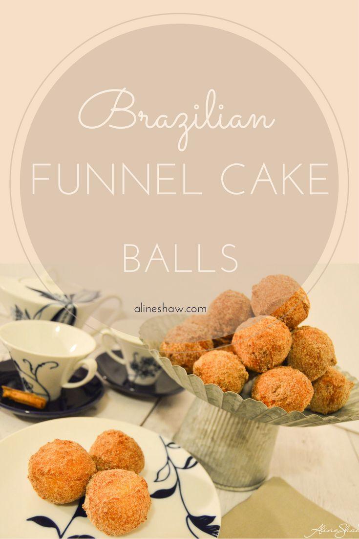 Bolinhos de Chuva | Funnel Cake | Cake | Fried | Breakfast | Holidays | Easy Recipe | Food | Brazilian Recipes | Brazilian Food | Sweets | Authentic Brazilian
