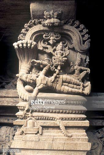 521393978-ananthapadmanabha-vishnu-on-serpent-wooden-gettyimages.jpg (340×508)