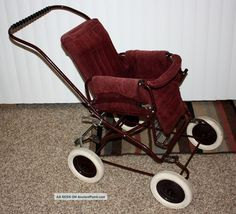 Vintage Top Of The Line Gesslein Pram Stroller Buggy