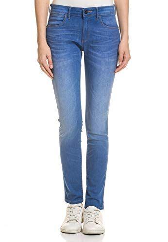 Wrangler Damen Damen Jeans Hose Skinny Fit Stretch Komfort