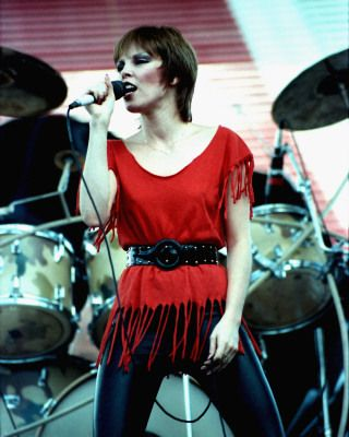 Pat Benatar - she and Joan Jett were the first female rockers I'd ever heard of as a kid - awesome