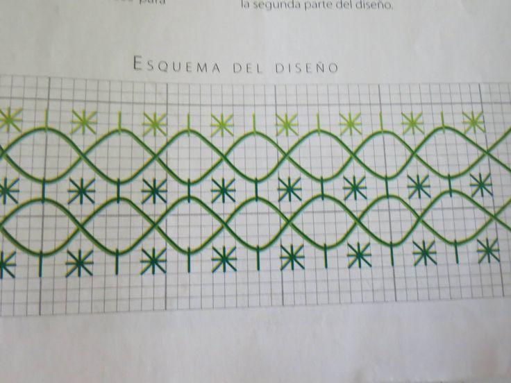 bordado español patrones - Buscar con Google