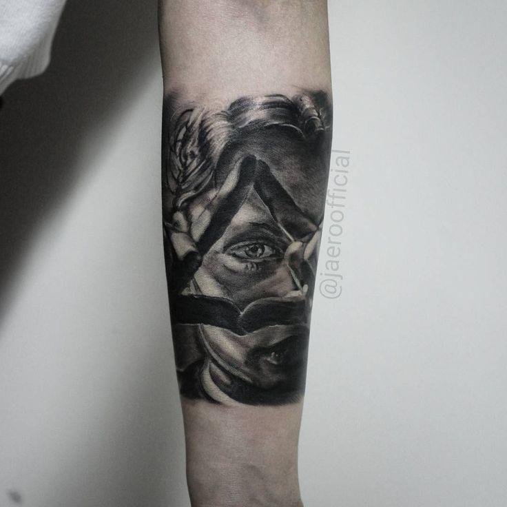 #tattoo #tattooart #eye #eyetattoo #bng #nocturnalink #cheyenneink #ink #inked #inkedup #jaer_X #rtats #тату #татуировка