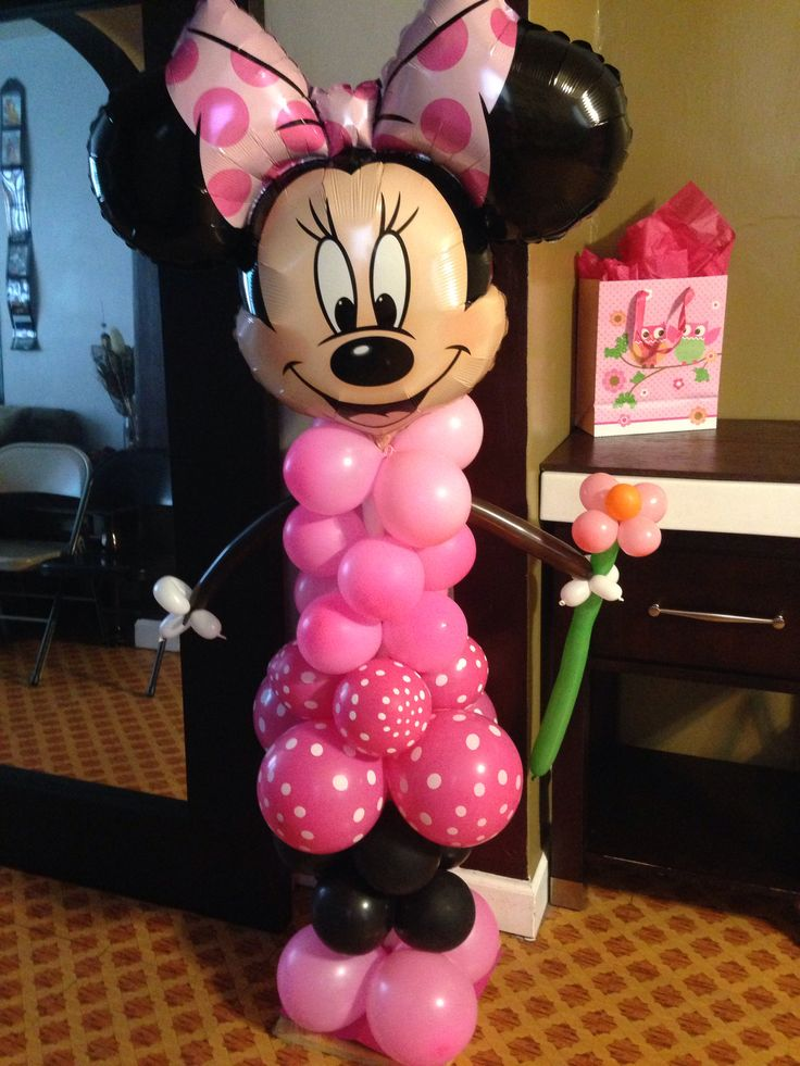 17 best images about mickey y minie mouse on pinterest for Balloon decoration minnie mouse
