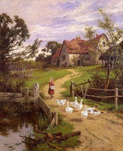 Berkshire Homestead - by Henry H. Parker