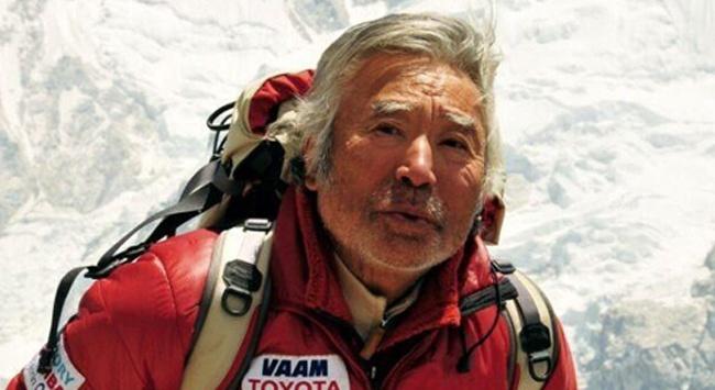 80 yaşında zirvedeJapon dağcı Yuichiro Miura, Everest'e tırmanan en yaşlı kişi oldu.