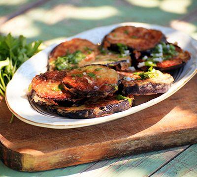 Beignets d'aubergine - Recette polynationalité !