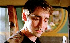 Like sunshine after a storm...Lee Pace smiles!