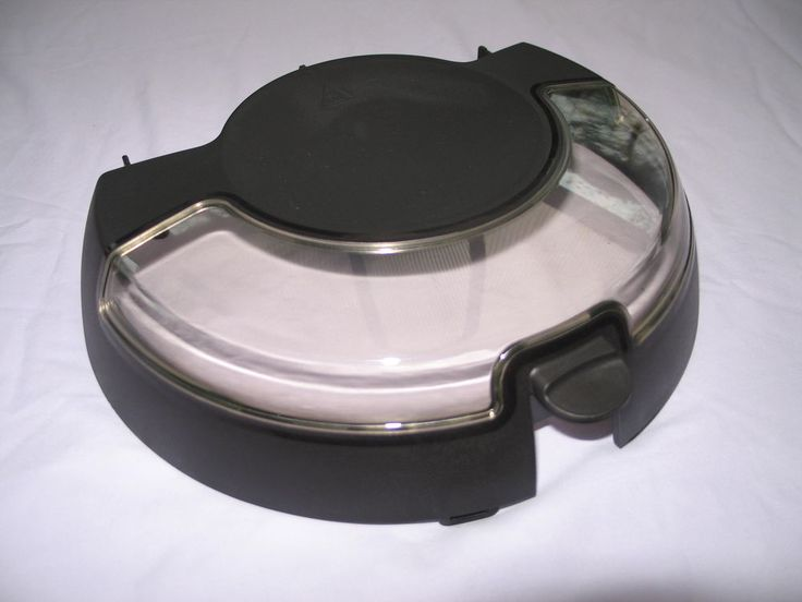 Tefal Actifry NEW Replacement BLACK LID - Fits all Models except Family