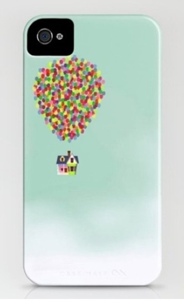 IPhone case - Pixar Up Movie House