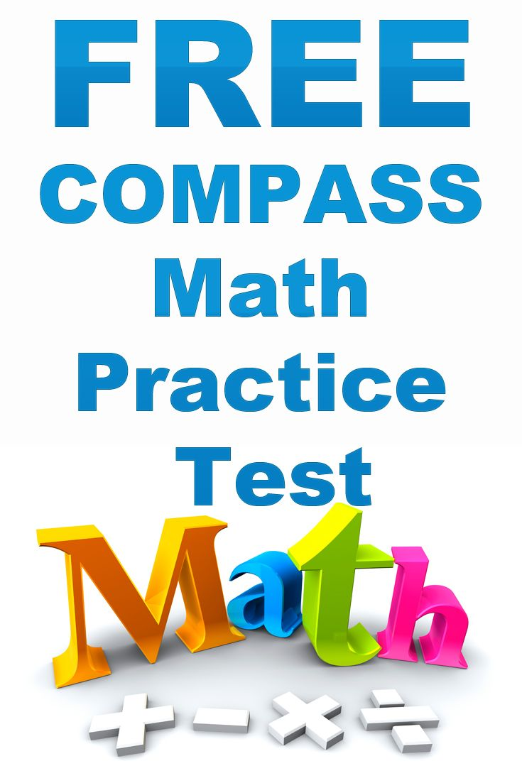 Free COMPASS Math Practice Test  http://www.mometrix.com/academy/compass-math-practice-test/