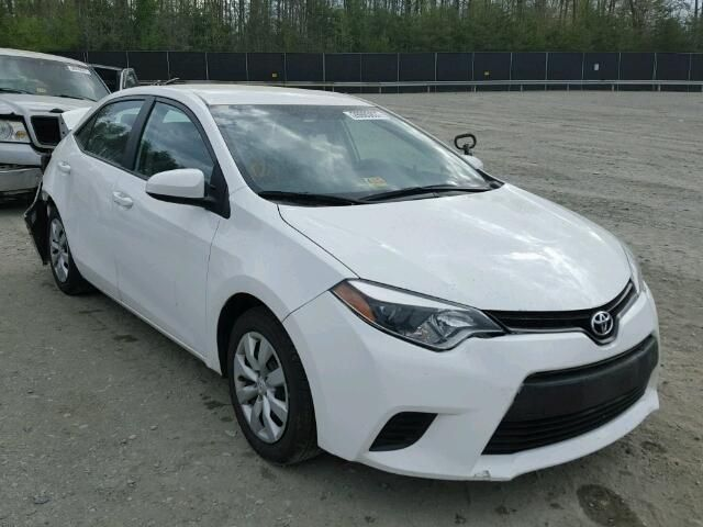 This 2014 Toyota Corolla Le has only 24528 miles. The vehicle sustained repairable collsion damage to the rear