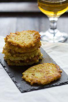 Kartoffelpuffer, tortitas de patata. Receta alemana con Thermomix                                                                                                                                                                                 Más