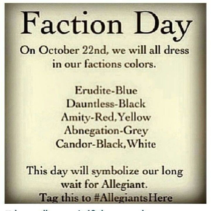 allegiant is already out but lets do this again this year! Repost…