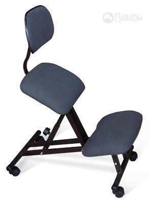 Коленный стул металлический