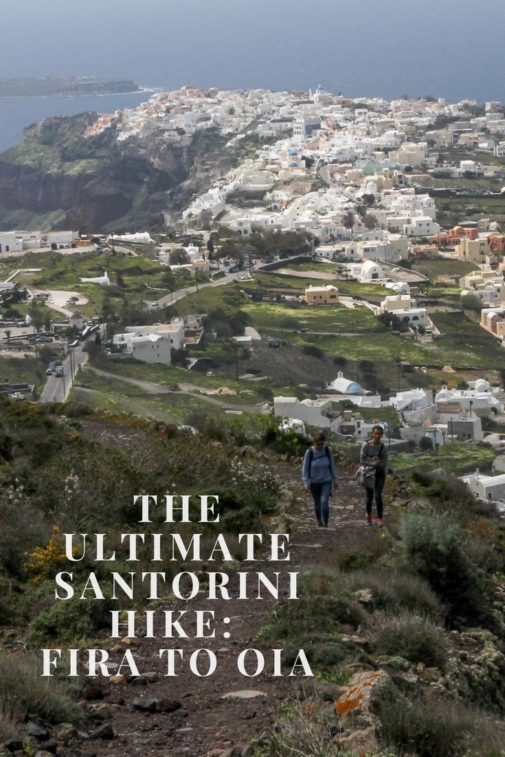 Santorini Travel Tips. The Ultimate Santorini Hike: Fira to Oia. Travel in Europe.