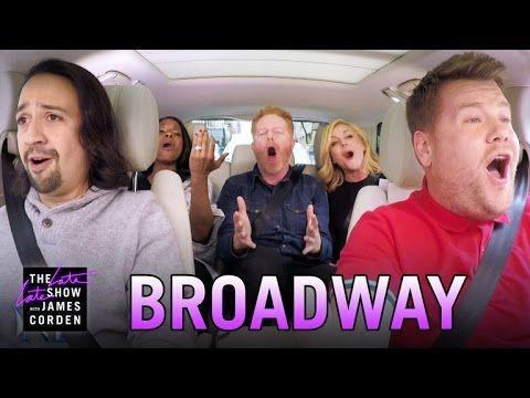 James Corden, Lin-Manuel Miranda, Other Tony Nominees Sing Broadway Carpool Karaoke