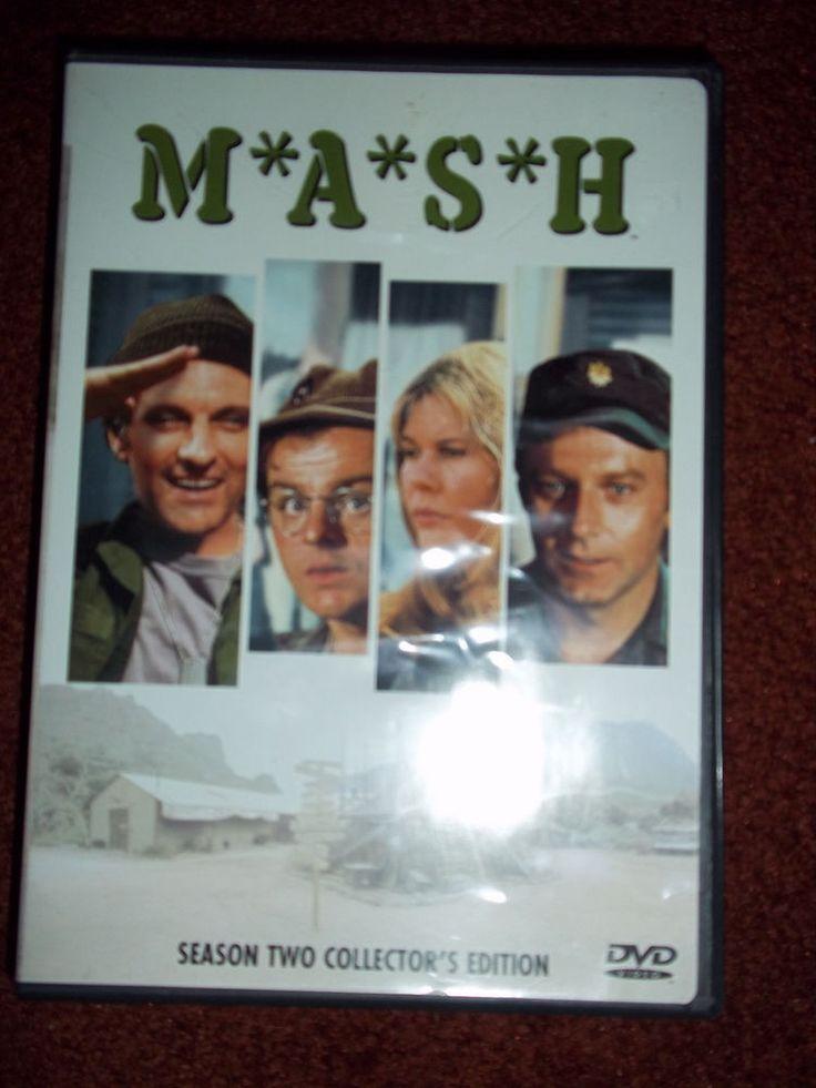 MASH DVD Season 2 Alan Alda Wayne Rogers McLean Stevenson Loretta Swit Burghoff
