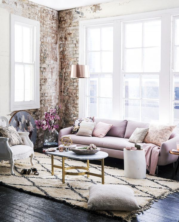 Exposed Brick Industrial Home Wall Ideas