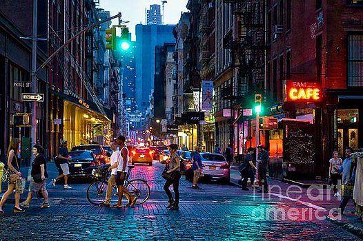 Dac Photography Soho Summer Nights New York City Soho