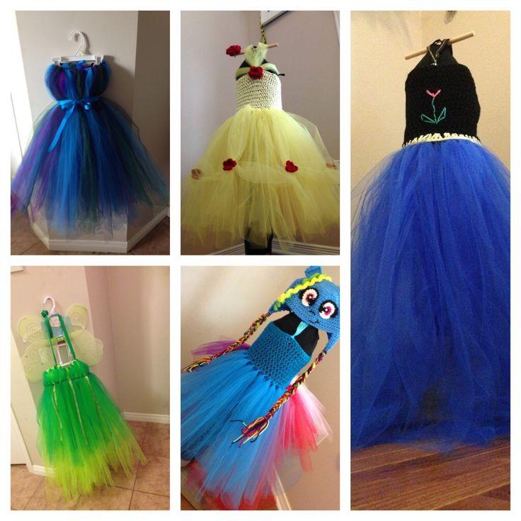 Beauty tutu dresses
