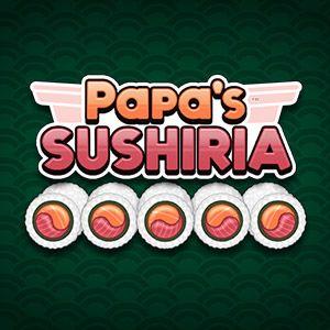 Speel het time management spel Papa's Sushiria gratis online!