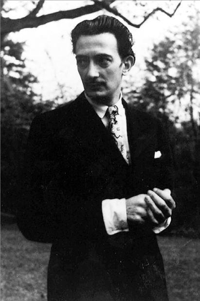 Ο μεγαλοφυής νάρκισσος (The Genius narcissus) Salvador Dali