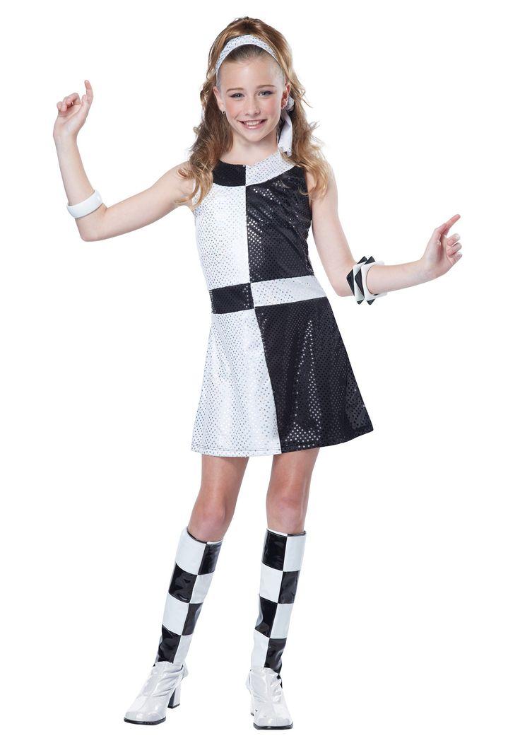 60's tween halloween costumes | Tween 60s Mod Chic Costume