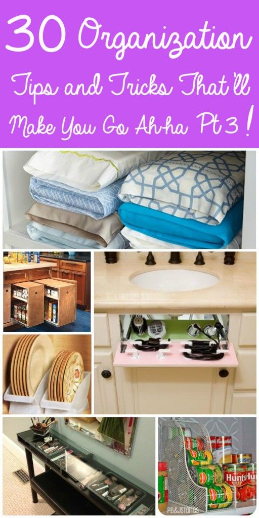 30 Organization Tips and Tricks That'll Make You Go Ah-ha! Part 3 | Beautifully BellaFaith