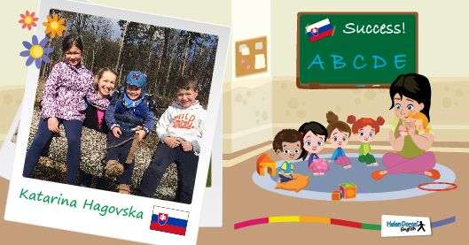 SUCCESS! Freedom and Joy Learning English with Helen Doron in Slovakia