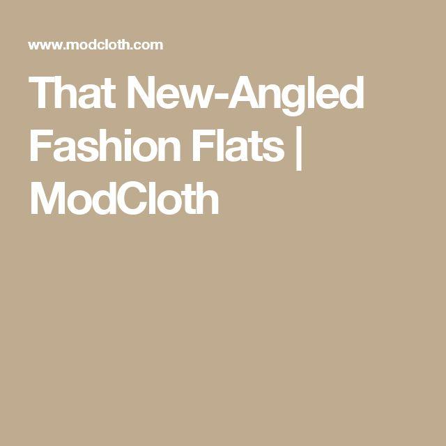 That New-Angled Fashion Flats   ModCloth