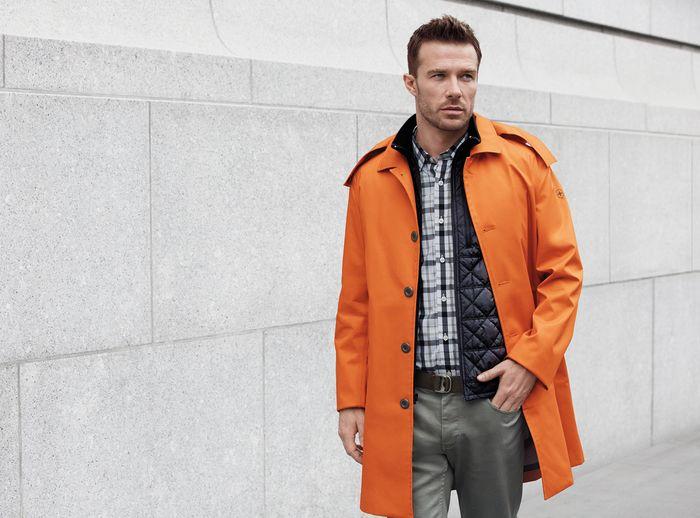 New high-tech raincoats for men