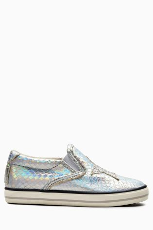Buy Silver Skate Shoes (Younger Girls) from the Next UK online shop