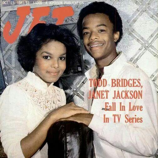 Janet Jackson & Todd Bridges ... Different Strokes