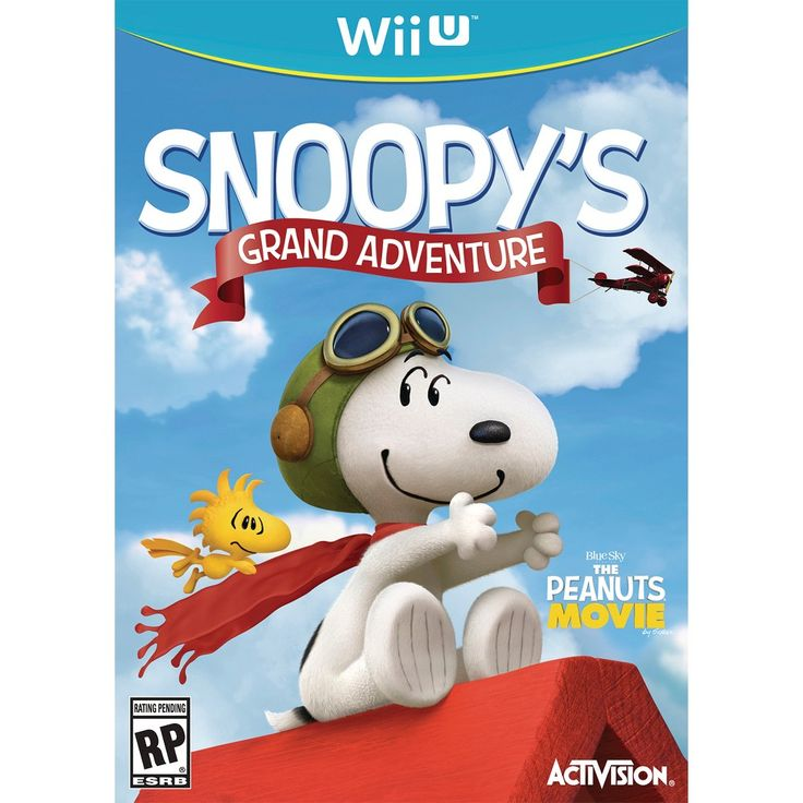 Snoopy's Grand Adventure (Nintendo Wii U)