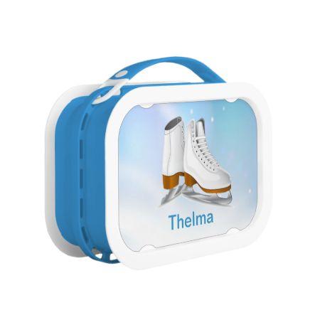 Ice Skates Lunch Box Yubo Lunch Box