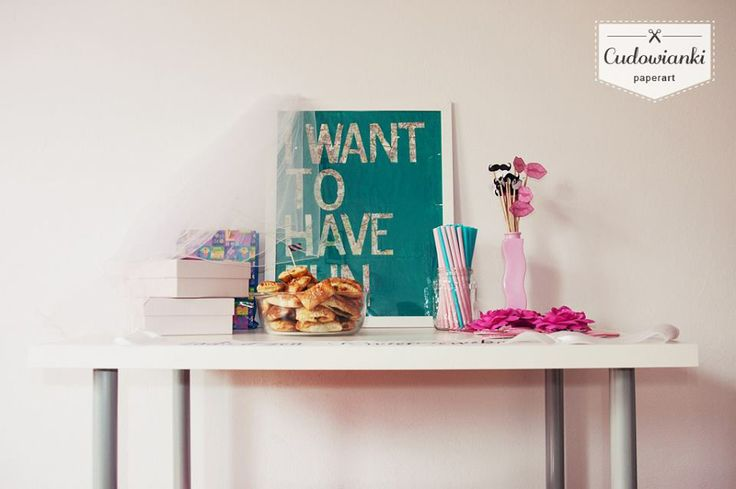 Girls just wanna have fun. Bachelorette party decorations, bridal shower decorations.