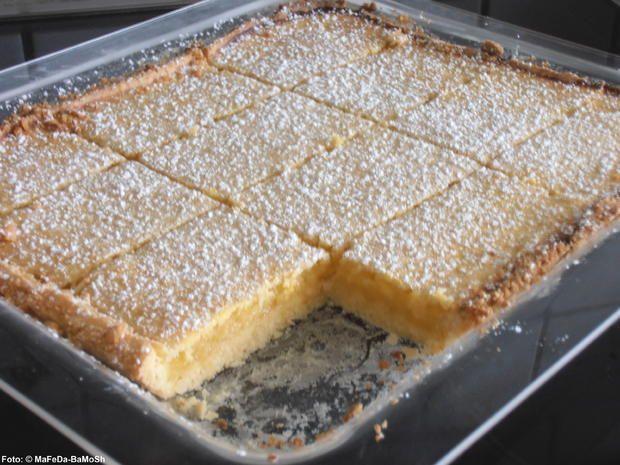 Zitronen-Schnitten - Rezept mit Bild - kochbar.de