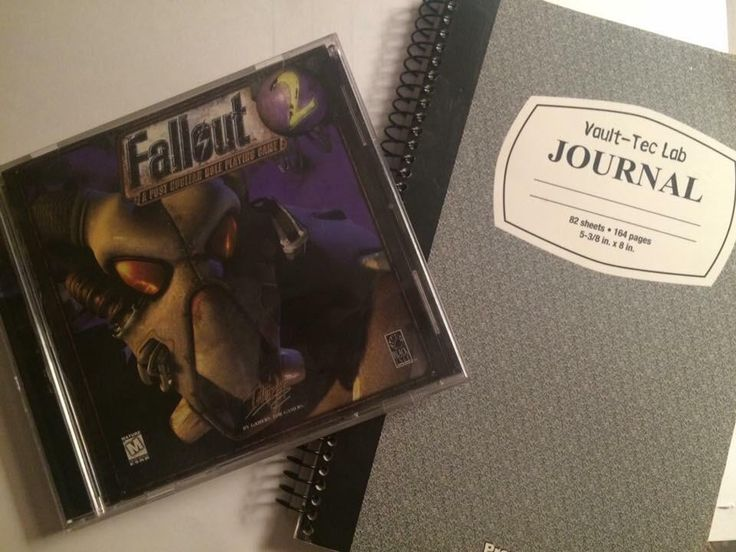 Fallout 2. Played this game to death as a kid.