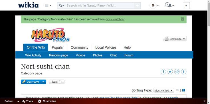 Nori-sushi-chan - NarutoFanon, the Naruto Fanon Wiki