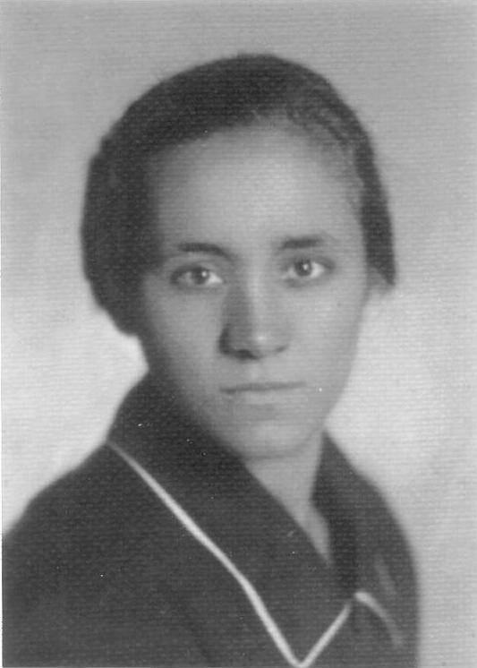 Madre Teresa de Calcuta a los 18 años.