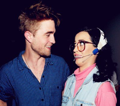 Robert Pattinson & Kathy Beth Terry (Katy Perry)