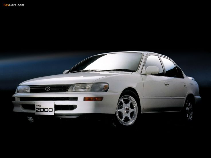 Wallpapers of Toyota Corolla TRD2000 (AE101) 1994 (1024 x 768)