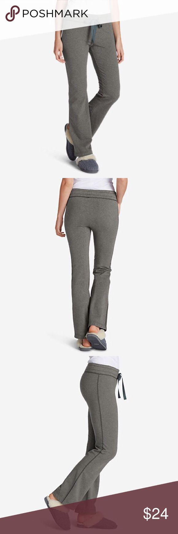 Ladies EDDIE BAUER Brushed Fleece Gray Pants sz L This is a pair of Ladies EDDIE BAUER Brushed Fleece Gray Pants in a sz L, item # 2591 in heather, gently used condition! I ship fast! Happy poshing friends! Eddie Bauer Pants