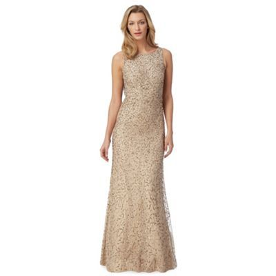 Debut lace and sequin dress