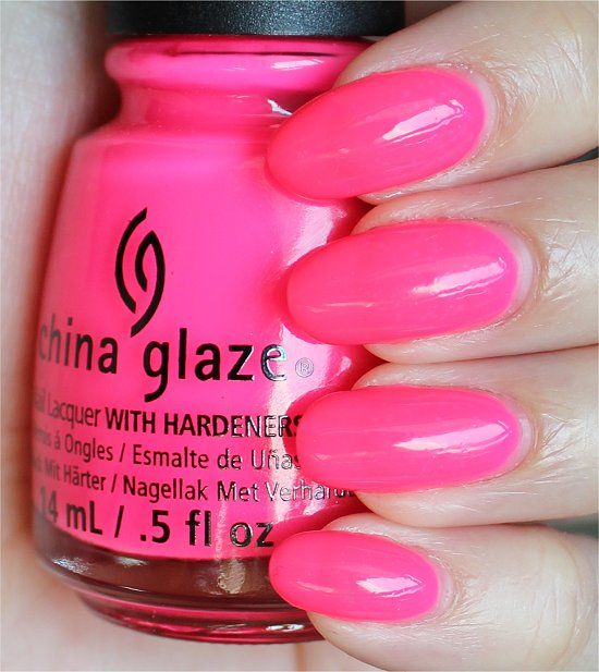 China Glaze Heat Index (From the Sunsational Collection. Click through for an in-depth review and more swatches!)